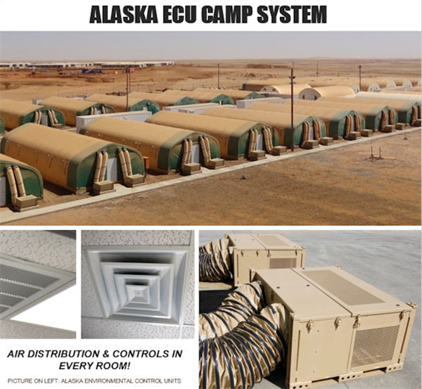 UNUSED 760-Person Man Camp Facility