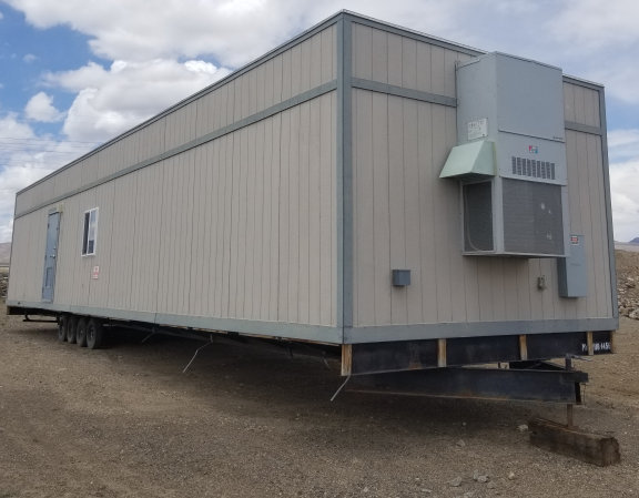 Phoenix Modular 12' W X 56' L Unfinished Mobile Office Trailer