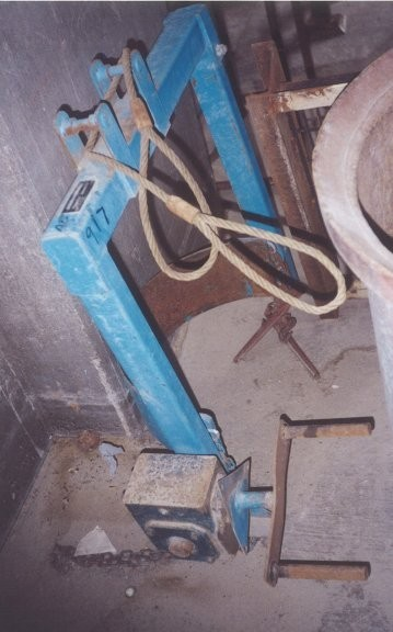 2 Units - Morse Forklift Barrel Picker, Model 285a