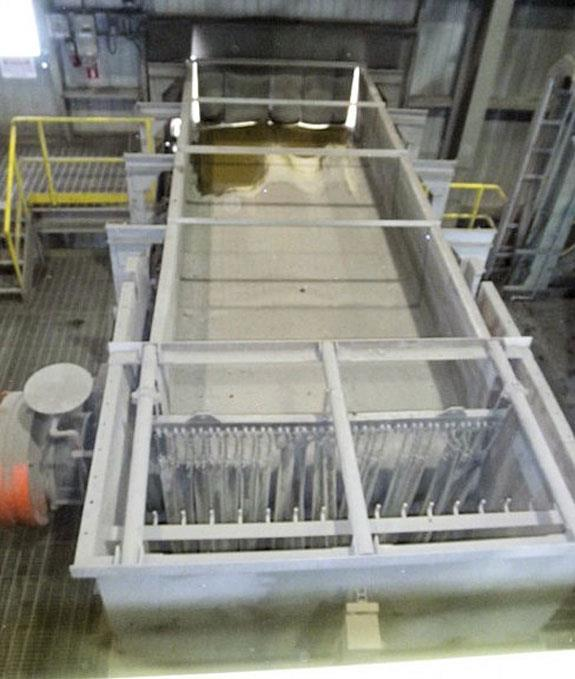 "Belt Feeder, 80"" X 45' Belt Conveyor With Grizzly"