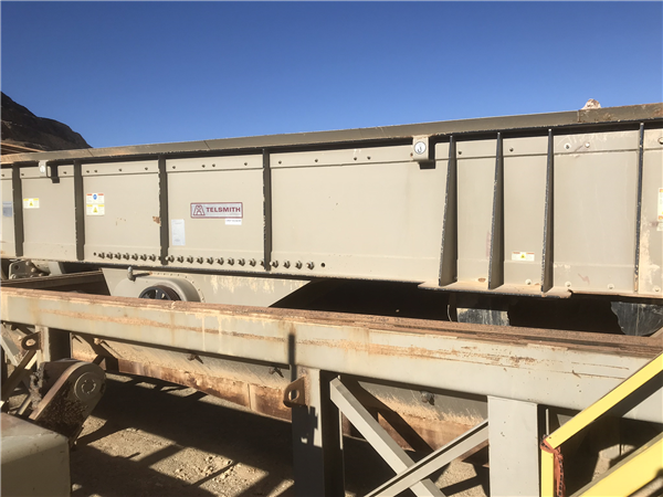 "Telsmith 48"" X 20' Vibrating Grizzly Feeder"