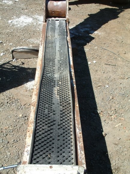 CAMBELT 12in X 45'  Belt Feeder, for inclined use; cleated belting