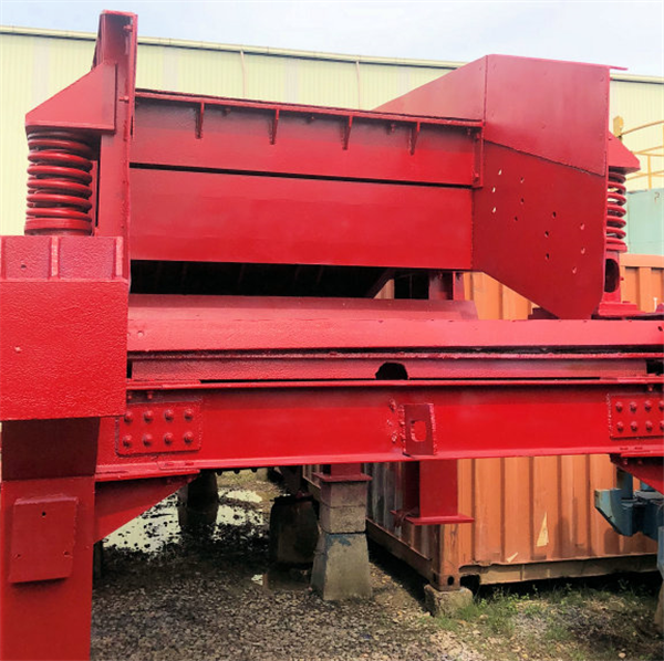 Kobe Steel - Allis Chalmers 1830mm X 4880mm (6' X 16') Pan Feeder With Vibrating Grizzly Section