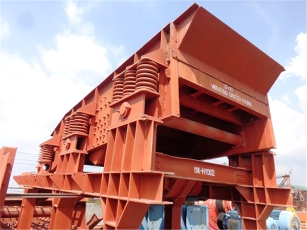 ALLIS CHALMERS  6' x 16' (approx 1880mm x 4880mm) Low Head Vibrating Grizzly Feeder