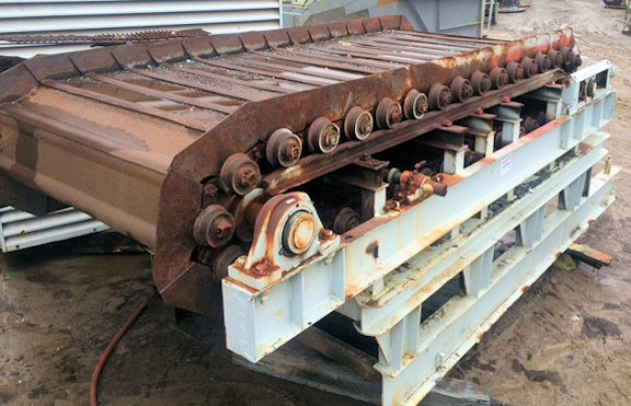 """Apron Feeder, 8' W  x 16'6"""" L x  5'8"""" H with 1.5 HP motor and Gearbox"""