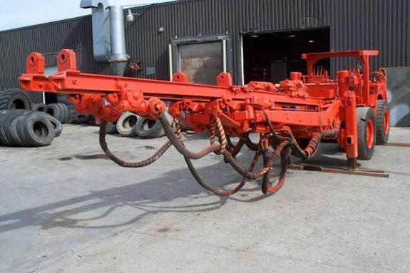 TAMROCK MJM 20B Twin Boom Pneumatic Jumbo with L550 drills