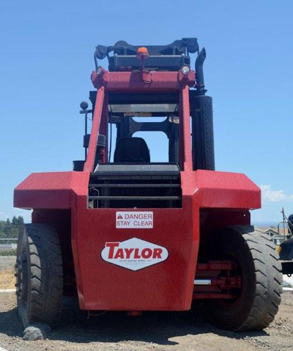 "TAYLOR 30,000# Forklift, Model THD300A1 ""Big Red"""