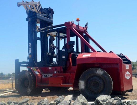 """Taylor 30,000# Forklift, Model Thd300a1 """"big Red"""""""