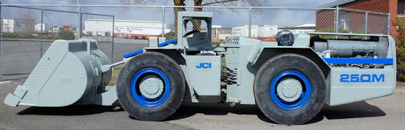 Jci Model 250m, 2.5-yard Underground Loader