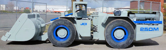 JCI Model 250M Underground Loader, 2.5 yard