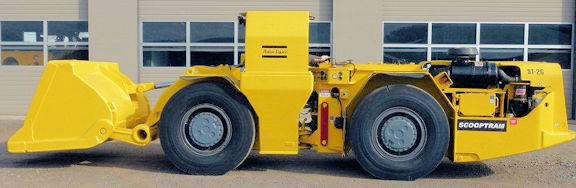 ATLAS COPCO Model ST2G, 2-Yard Scooptram Underground Loader
