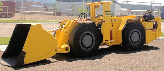 ATLAS COPCO Model ST-2D, 2-Yard Scooptram Underground Loader