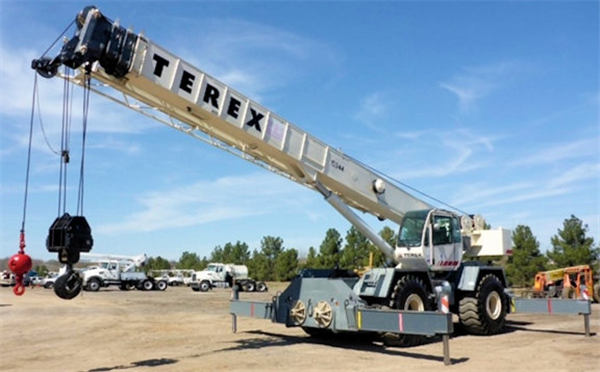 2007 TEREX RT780 Rough Terrain Crane