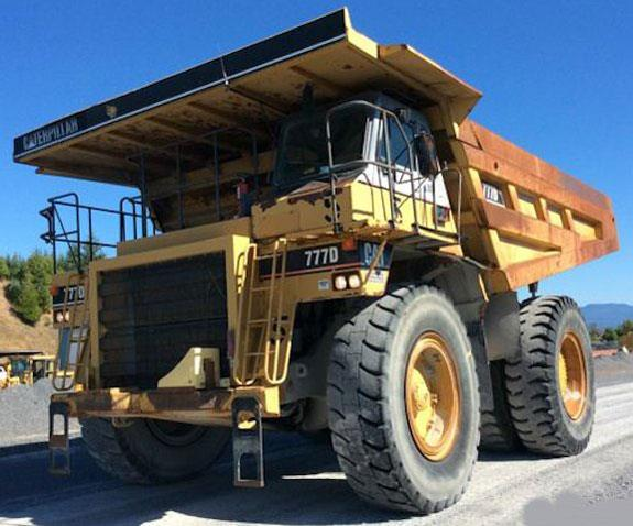 Caterpillar 777d Off-road End Dump Truck