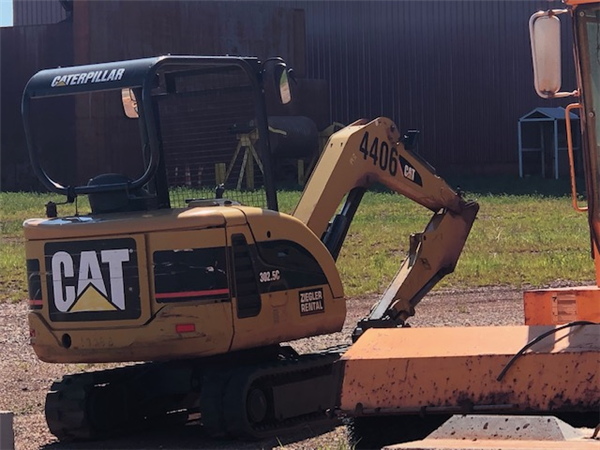 2007 Caterpillar 302.5c Mini Excavator