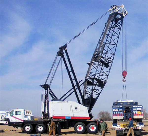 1992 Grove Hl150t Lattice Boom Truck Crane