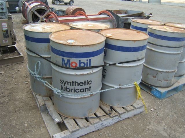 7 Drums of UNUSED MOBIL SHC 630 Oil