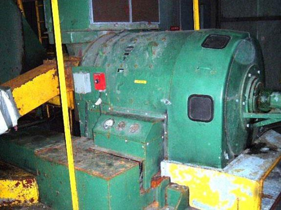 Double Drum Ship Winch, 40 Hp, 35 Fpm, 42,000# Line Pull