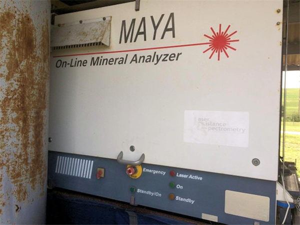 Laser Detect Systems - Maya 6060 Series Model M-2010 Libs/online Mineral Analyzer