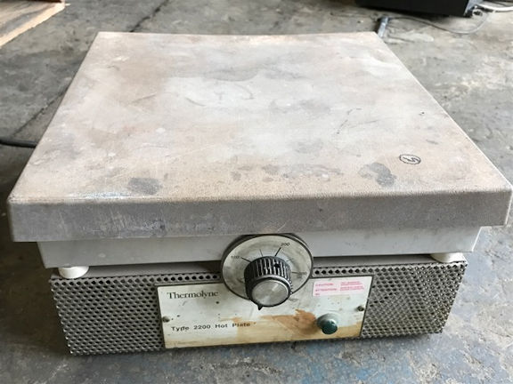 Barnstead Thermolyne Type 2200, Model Hpa2235m Hot Plate
