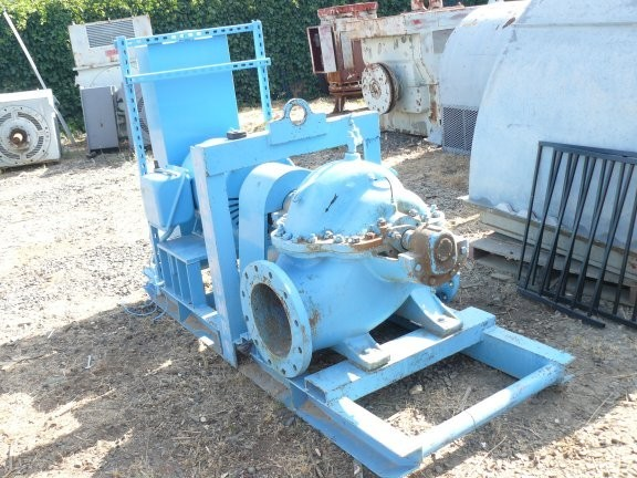 Worthington 12 X 10 Pump With 100 Hp Motor
