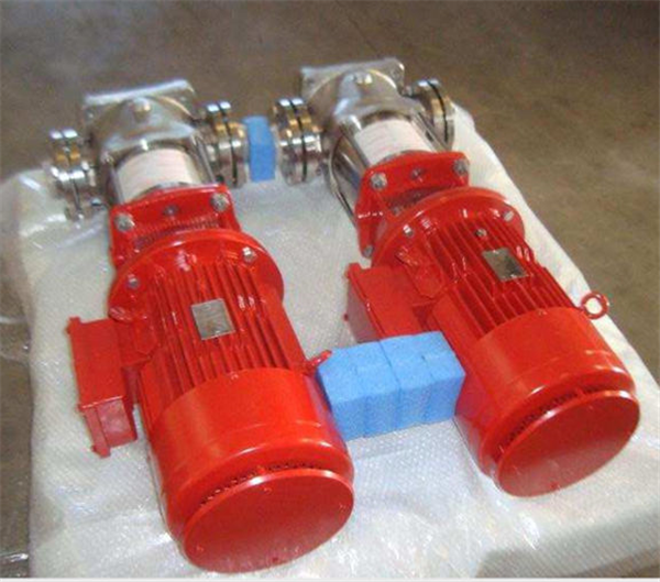Lot Of (4) Unused Flowserve Water Pumps Used For Fire Fighting