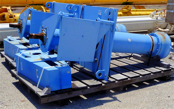 2 Units - Warman 8sh6-8100 8 X 6 X 17 Vertical Cantilever Pumps