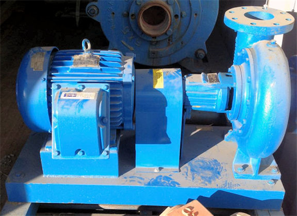 UNUSED PLAD Model 4-9SL Pump with 7.5 HP Motor