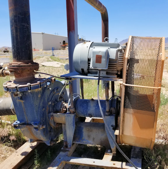 Allis Chalmers 10 X 8 X 21 Srl-c Pump With 50 Hp Motor