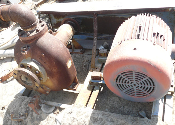 GORMAN RUPP Model 04B2-B 4 X 4 Centrifugal Pump with 40 HP motor