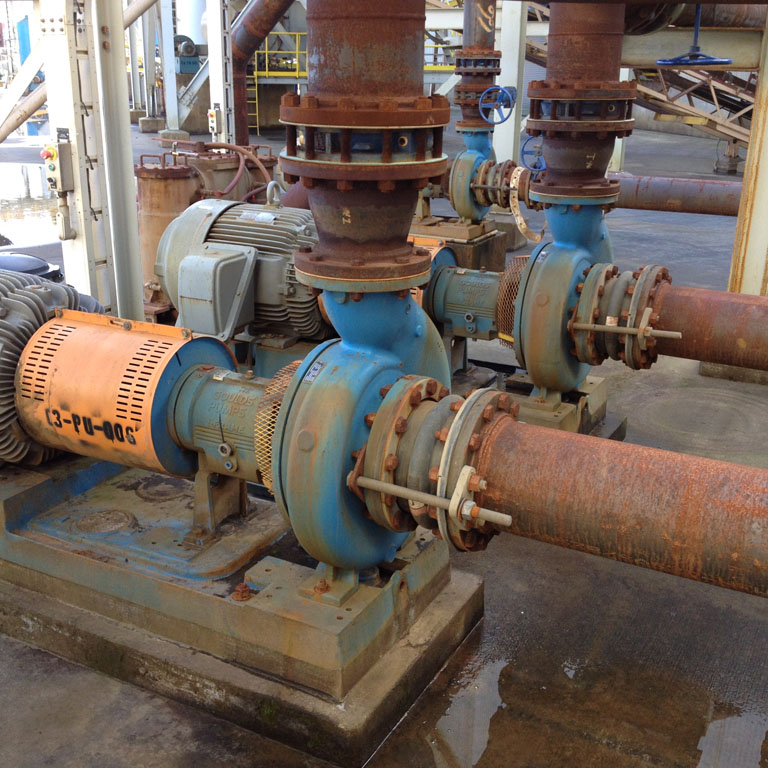 GOULDS Model 3196 x 17, Size 8 X 10-16H Process Water Centrifugal Pump with 100 HP motor