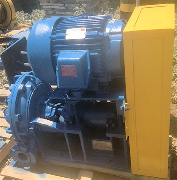 2 Units - ASH Pumps, Type A-6-6 with 25 HP motor