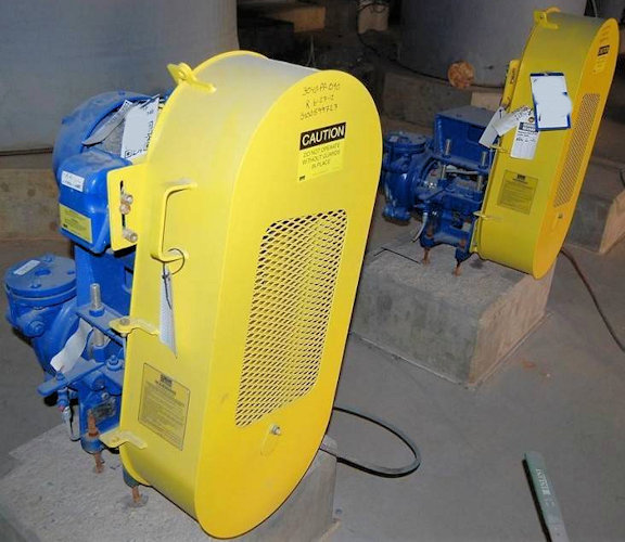 "2 Units - Unused 1.5"" X 1"" Warman B-ah Pumps, Model 015bahrrrmm7713 Centrifugal Srl Pump With 10 Hp Motor"