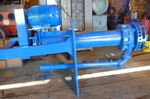 TOYO Model DEC 81-80-1E-48 Vertical Cantilever Slurry Pump
