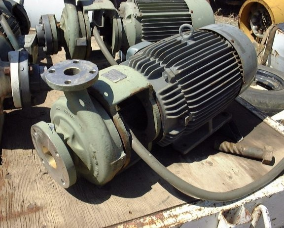 7 Units - WORTHINGTON 9599 D-Line Centrifugal Pumps, Model D1022, 3 x 1.5 x 8, 316 SS