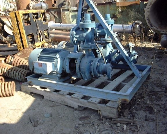 2 Units - WORTHINGTON D-Line Centrifugal Pumps, Model D1022, 3 X 2 X 6, 15 HP