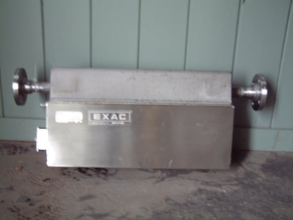 Unused Exac Model Ex1200-a Mass Flometer With Flosensor