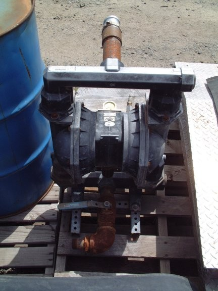 Ingersoll Rand Diaphragm Pump, Model Pd20a-aap-ggg, 170 Gpm