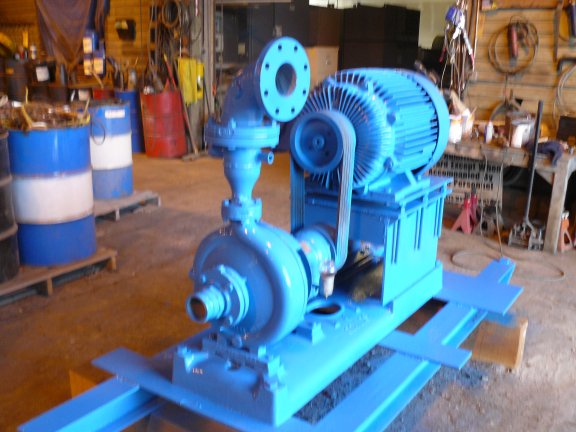Goulds 4 X 3 Pump With 75 Hp Motor