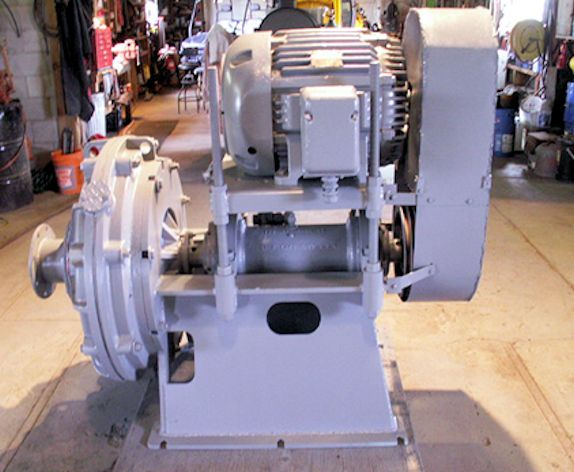 "Galigher 8"" X 6"" Srl Horizontal Pump, Model D6vrg200 With 50 Hp Motor"