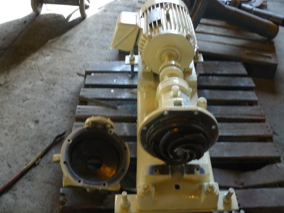 GOULDS  Model 3196, Size 1 x 1.5 x 8 Pump with 10 HP motor