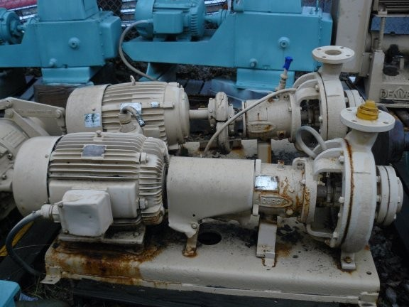 DURCO Model 1K 1.5X1-6/62 Pump with 7-1/2 HP Motor