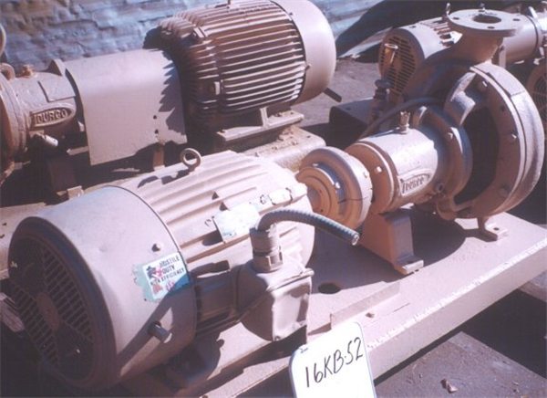 """Durco 4"""" X 3"""" Pump With 30 Hp Motor"""