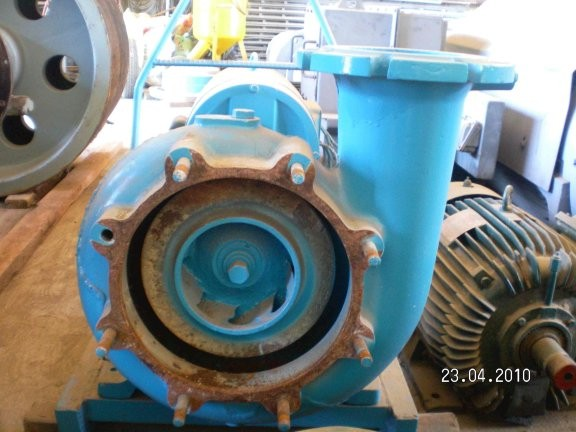 "Harland Centrifugal Pump, With 6"" Inlet, 6"" Outlet And 10"" Impeller"
