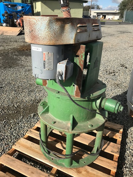 "DENVER 2"" Vertical Sand Pump with 3 HP motor"