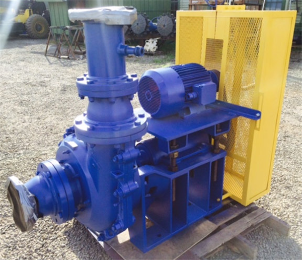 ASH 6 x 6 SRH Pump with 15 HP motor