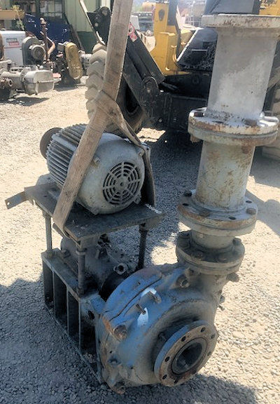 ASH 5 x 4 SRH Pump with 15 HP motor