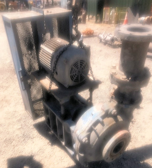 ASH 5 x 4 SRH Pump with 20 HP motor