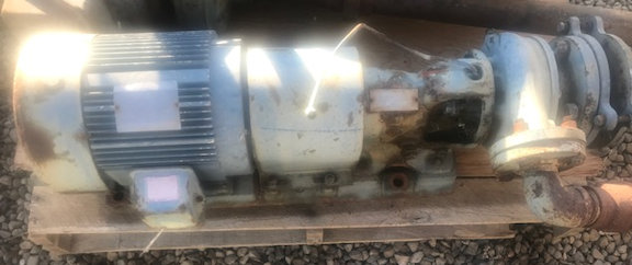 GOULDS Model 3199 Pump, Size 1.5 X 3-6 with 5 HP motor