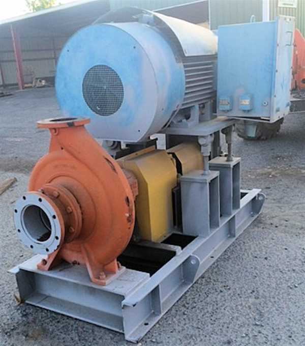 Southern Cross Centrifugal Pump, 200 X 150 - 315 With 185 Kw Motor